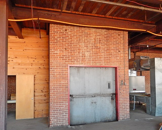 One of Two Freight Elevators