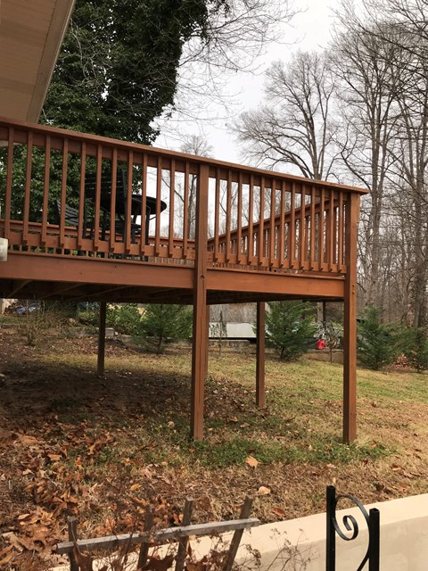 Deck side view