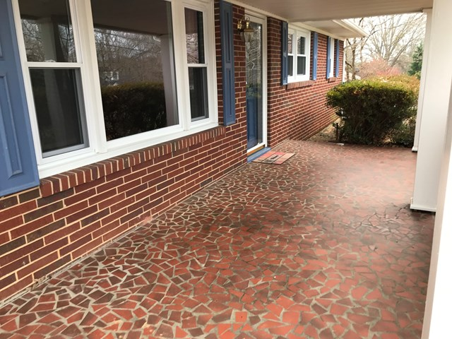 tile front porch